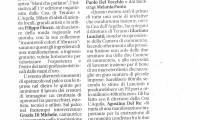 Rassegna stampa 17 maggio MANI CHE...PARLANO