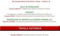 GIORNATA DELL'ECONOMIA: Rapporto sull'economia della Provincia di Teramo